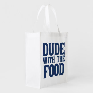 Dude With The Food Reusable Grocery Bag