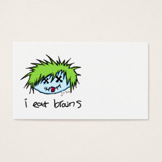 Dude Zombie Business Card