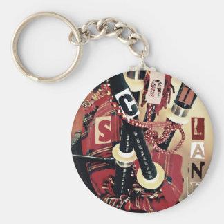 Dudelsack Scotland Keychain