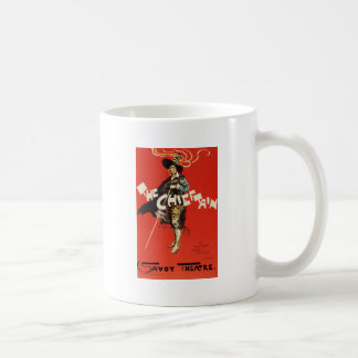 Dudley Hardy The Chieftain Savoy Theatre Classic White Coffee Mug