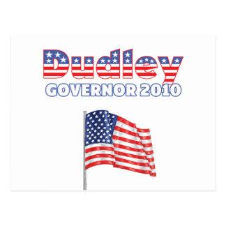 Dudley Patriotic American Flag 2010 Elections Postcard