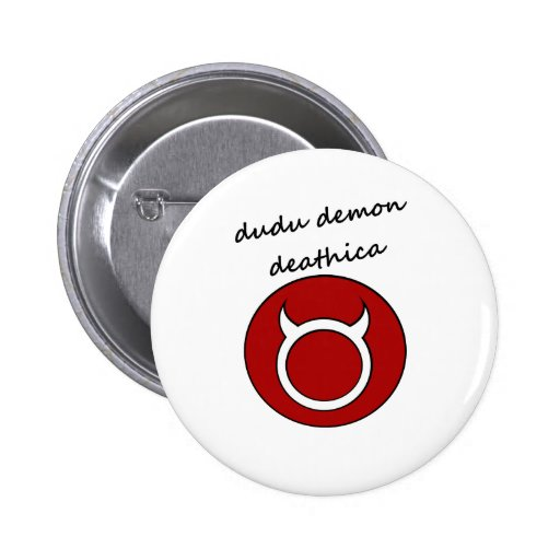 dudu demon button