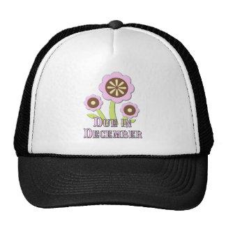 Due in December Expectant Mother Trucker Hat
