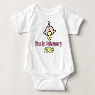 Due in February 2006 Baby Bodysuit