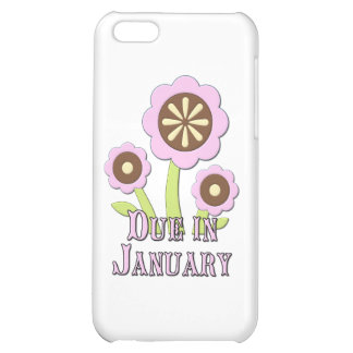 Due in January Expectant Mother Case For iPhone 5C