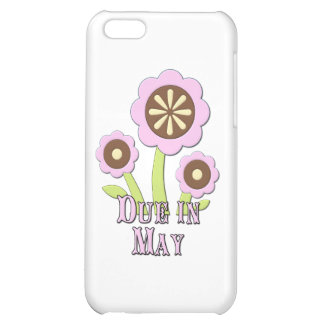 Due in May Expectant Mother iPhone 5C Covers