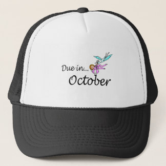 Due In October Stork) Trucker Hat