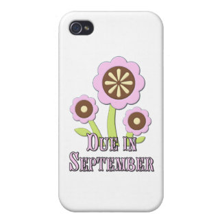 Due in September Expectant Mother iPhone 4 Covers