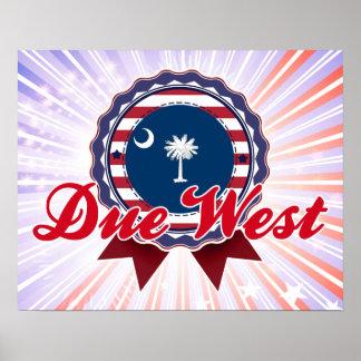 Due West SC Print