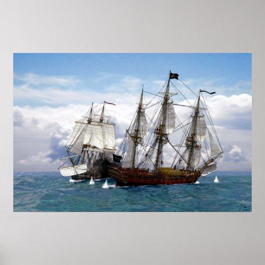 duel at sea poster