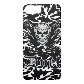 Duel Skull, Battle, Kick Boxing and Muay Thai iPhone 7 Plus Case