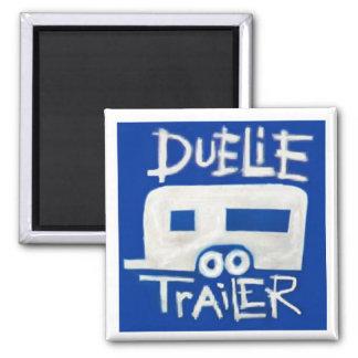 Duelie Trailer Logo Magnet