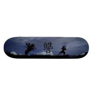 Dueling Samurai Skate Board Decks