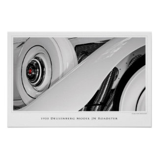 Duesenberg Model JN Roadster - Poster