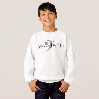 Duet (Bass) Boy's Sweatshirt