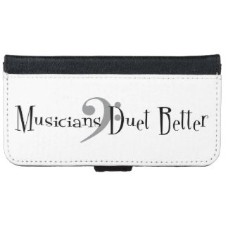 Duet (Bass) iPhone & Samsung Wallet Case