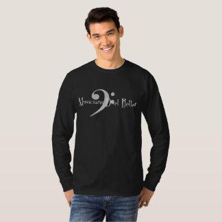 Duet (Bass) Men's Basic Long Sleeve Dark T-Shirt