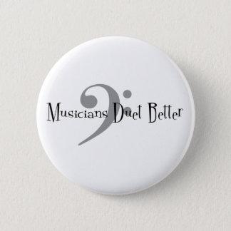 Duet (Bass) Round Button