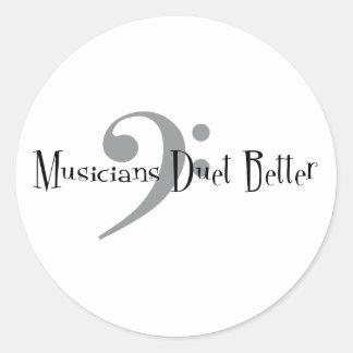 Duet (Bass) Sticker