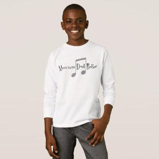 Duet (Notes) Boy's Long Sleeve T-Shirt