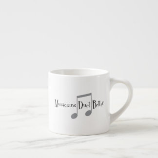 Duet (Notes) Espresso Mug
