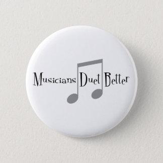 Duet (Notes) Round Button