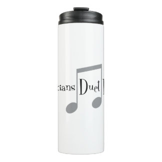 Duet (Notes) Thermal Tumbler