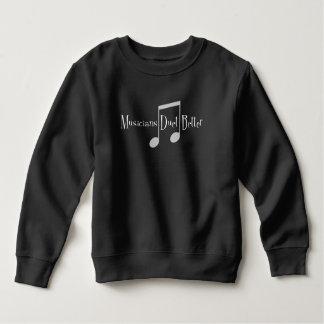 Duet (Notes) Toddler Dark Sweatshirt