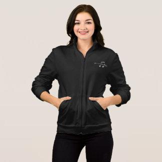 Duet (Notes) Women's Dark Fleece Zip Jog Jacket