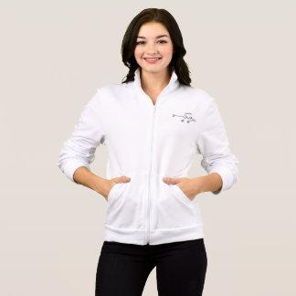 Duet (Notes) Women's Fleece Zip Jog Jacket
