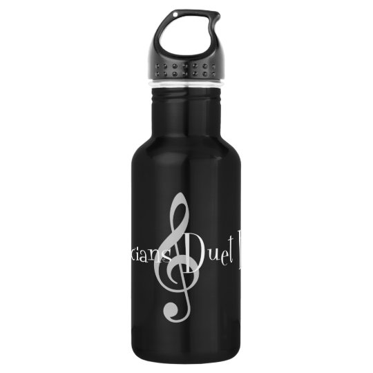 Duet (Treble) Dark Water Bottle