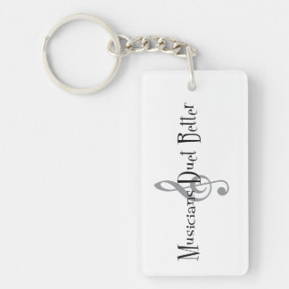 Duet (Treble) Key Chain