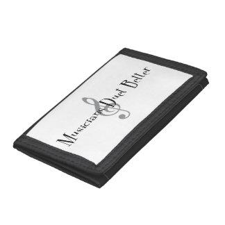 Duet (Treble) Tri-fold Wallet