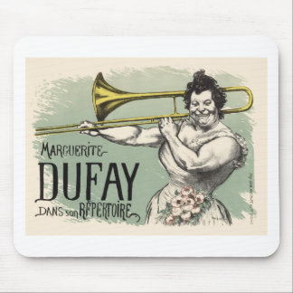 Dufay Hornblower Mouse Pad