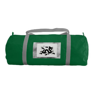 Duffle Gym Bag WITH CHINESE DRAGON