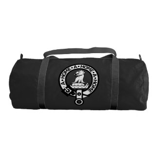 Duffle gym bag with Clan Home Crest