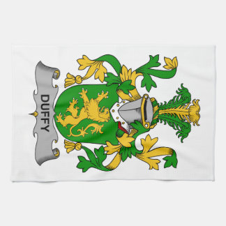 Duffy Family Crest Kitchen Towel