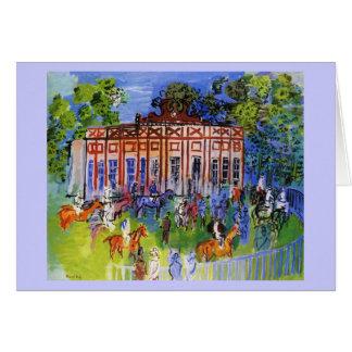 Dufy(chateau paddock) card