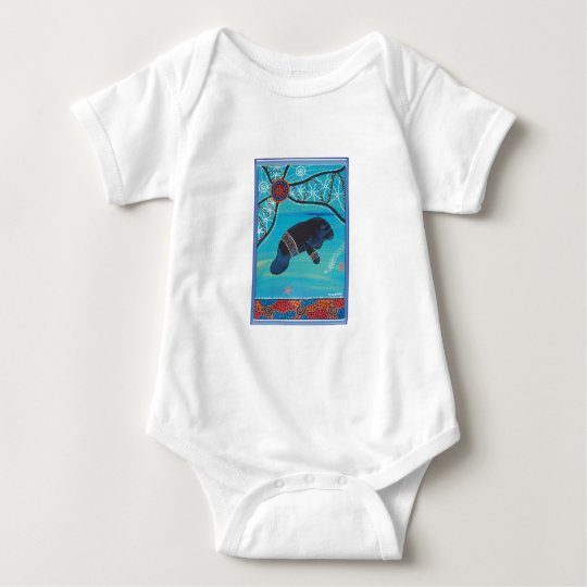 DUGONG DREAMING BABY BODYSUIT