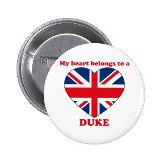 Duke 2 Inch Round Button