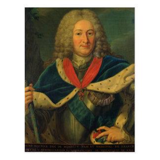 Duke Adrien-Maurice de Noailles Postcard