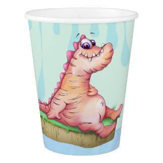 DUKE ALIEN MONSTER CUTE Paper Cup, 9 oz Paper Cup