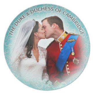 Duke & Duchess of Cambridge Plate