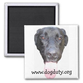 Duke Head, www.dogduty.org Magnet