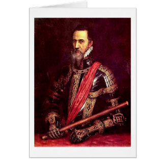 Duke Of Alba By Titian Card