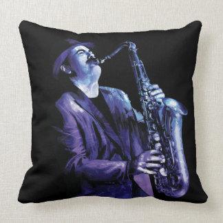 Duke Silver Throw Pillow