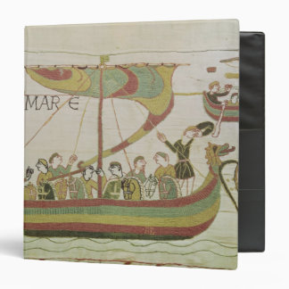 Duke William of Normandy crosses the sea Binder