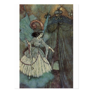 Dulac's Beauty and the Beast Postcard