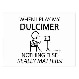 Dulcimer Nothing Else Matters Post Cards
