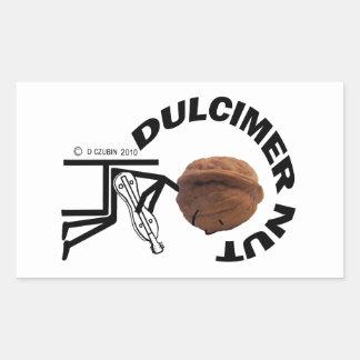 Dulcimer Nut Sticker